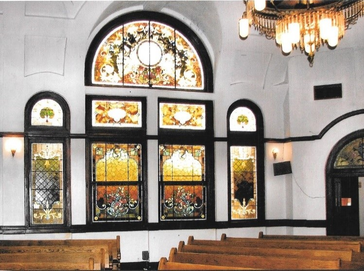 picture of stained-glass windows